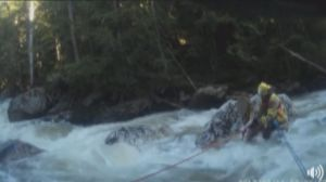 Kelowna woman survives fall into rushing creek, but gets burned on social media