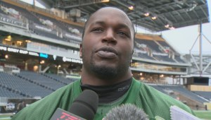 RAW: Winnipegger Don Oramasionwu on Grey Cup