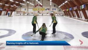 Fleming knights off to curling Nationals