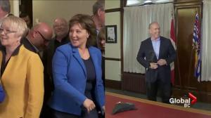 Talk of collaboration between B.C. political parties