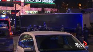 At least 9 dead as truck plows into Berlin Christmas market