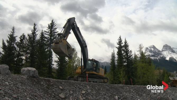 All but One Dry Dam Eliminated from Kananaskis Country ...