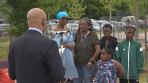 TDSB re-dedicates memorial tree, plaque to Jordan Manners after original mistakenly removed