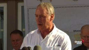 California wildfires: Firefighting operation 'like an Iraqi war', Zinke says