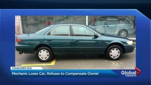 GTA mechanic loses car, refuses to compensate owner