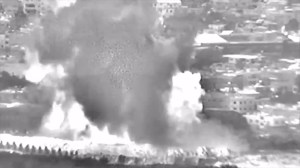 Video purports to show Israel airstrikes targeting Gaza allegedly belonging to Hamas