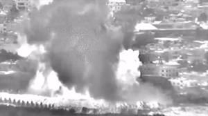 Video purports to show Israel airstrikes targeting Gaza allegedly belonging to Hamas