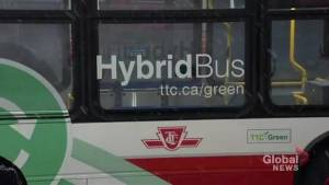 TTC unveils first Hybrid bus