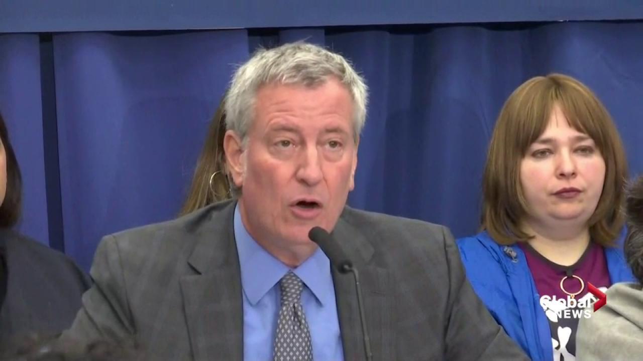 NYC mayor orders mandatory measles vaccinations amid 'health emergency'