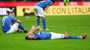 Italy fails to reach World Cup for 1st time in 60 years