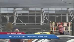 Security expert Andre Gerolymatos talks Brussels attacks