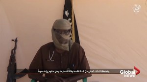 Video by ISIS affiliate in Somalia features man from Canada urging jihad