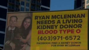 Stranger answers Calgary man's desperate plea for kidney donation