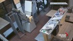 Surveillance video shows break-in at Calgary bakery