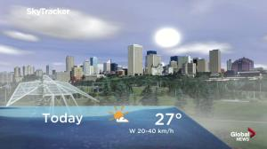 Edmonton early morning weather forecast: Tuesday, August 14, 2018