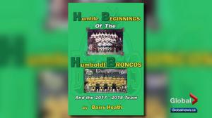 Author says he had good intentions when writing Humboldt Broncos book