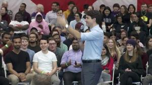 "'It was a trip that happened"": Trudeau responds to question about trip to India"