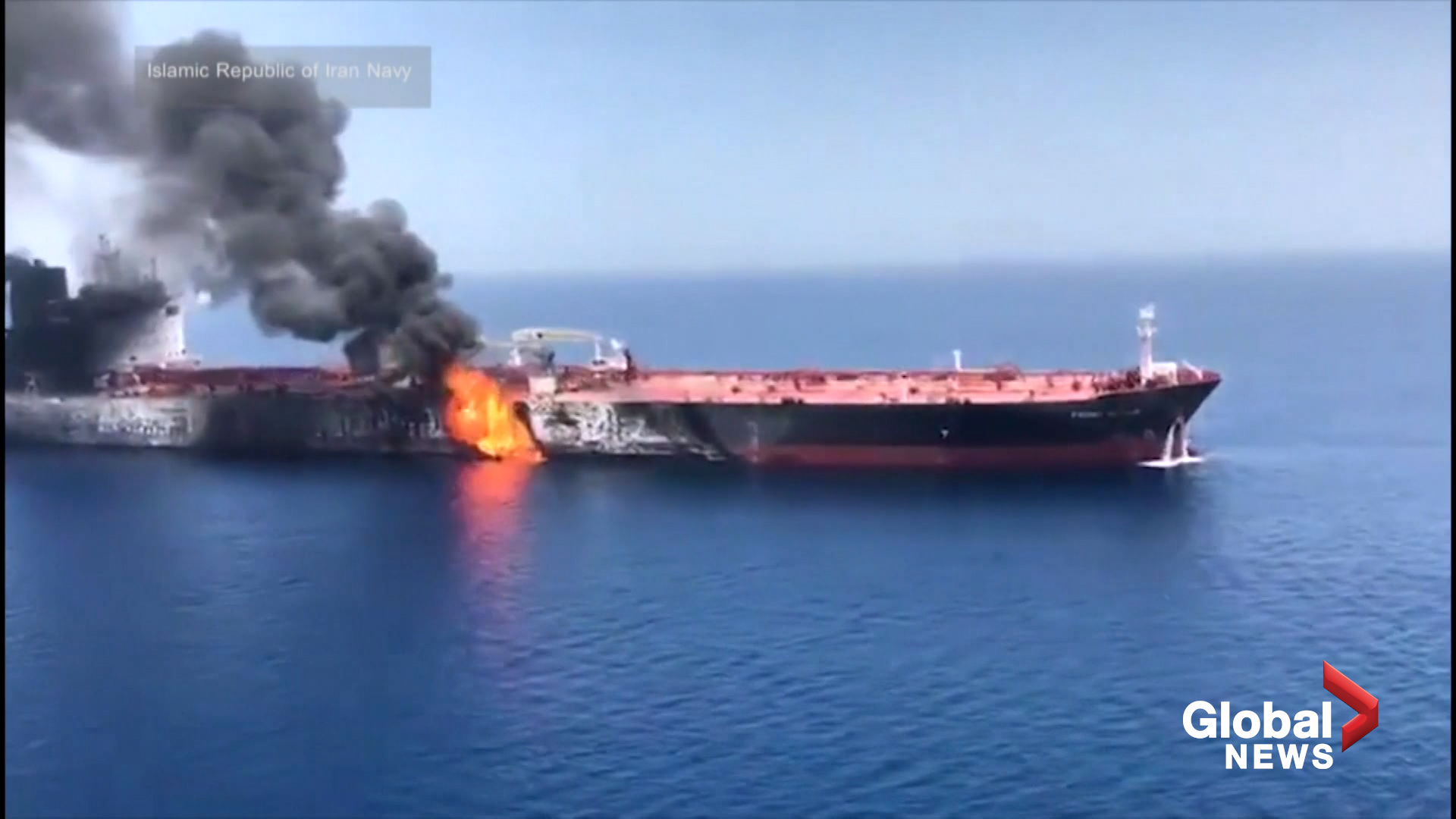 Iran's responsibility for oil tanker attacks proven by new photos, Pentagon says