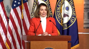 "Nancy Pelosi says new wins in House are like a ""tsunami' instead of 'blue wave', still confident in being Speaker"