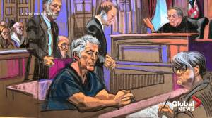 Billionaire Jeffrey Epstein pleads not guilty on sex trafficking charges involving minors