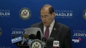 Jerrold Nadler disagrees with William Barr on obstruction findings