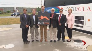 Pilot project sees return of bus service between St. Stephen and Saint John