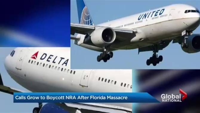 Delta, United join growing list of companies cutting ties with NRA
