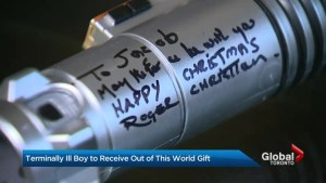 Star Wars set decorator sends special memento to terminally ill boy