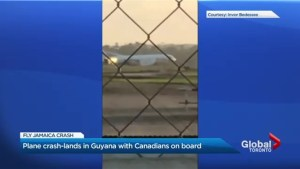 6 injured after flight headed to Toronto from Guyana crash lands