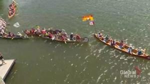 Weeklong paddle journey along St. John River ends in Saint John
