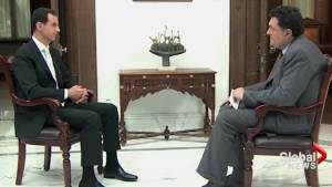 Syria's Assad dismisses chemical weapons attack claims