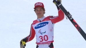 Alexis Guimond captures bronze in Men's Paralympics GS