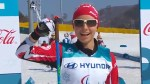 17-year-old Natalie Wilkie skis to cross-country Paralympic bronze in Pyeongchang