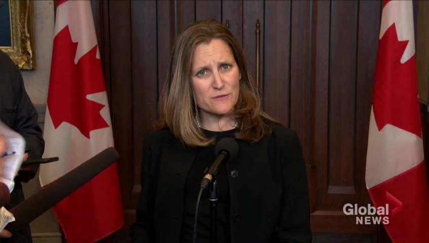 Trudeau government gives formal notice it intends to ratify new NAFTA