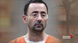 Former U.S. gym doctor sentenced to 175 years for sexual abuse