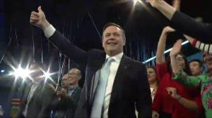 Alberta Election 2019: 'Build those pipes' premier-designate Jason Kenney ushers in new era (33:55)