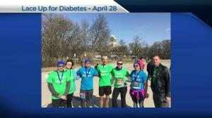 Lacing up for diabetes