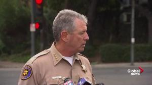California bar shooting: 'We believe he shot himself' says sheriff