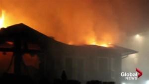 Penticton house fire