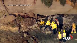 3 dead after bluff collapse in Encinitas, California