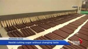 Less sugar, same taste