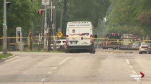 Second building being evacuated following explosion at Winnipeg law office