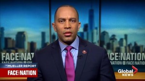 Hakeem Jeffries  calls for 'entire' Mueller report to be released