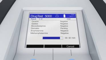 Roadside drug testing device picks up false positives from