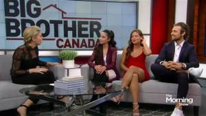 The final evictees and the big winner of Big Brother Canada