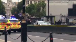 Police arrest male suspect in UK parliament crash