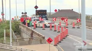 Mercier Bridge re-opens after fallen concrete slab forces closure of southbound lane