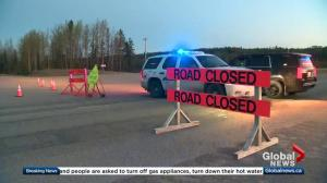 Residents returns home after wildfire evacuation west of Edson