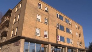 The heat is once again working in a Kingston apartment building