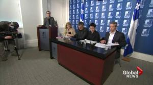 Environmentalists protest Energy East 'secret deal'